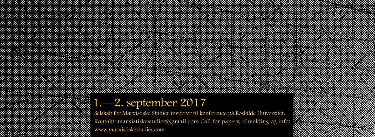 Call for Papers: Marx Nu! 2017
