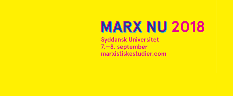 Call for papers: Marx Nu! 2018